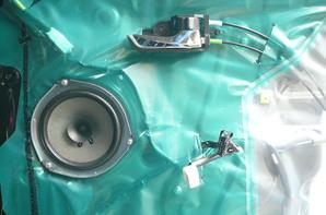 ダイハツタントカスタムターボ 世界最高音質水準カースピーカーAPM-SP1-Before
