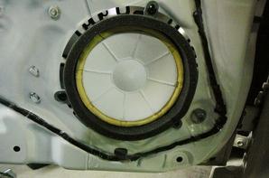 ダイハツコペン 高音質APM-SP1カースピーカー取り付け-Before