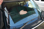 BMWミニ フロントガラス リペア-After