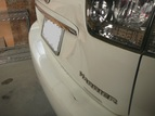 自動車板金塗装 トヨタハリアー リヤゲート リヤバンパー-Before