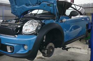 BMW ミニ クーパーS 車検整備-Before