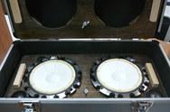 APMサウンドカースピーカー小型デモ機